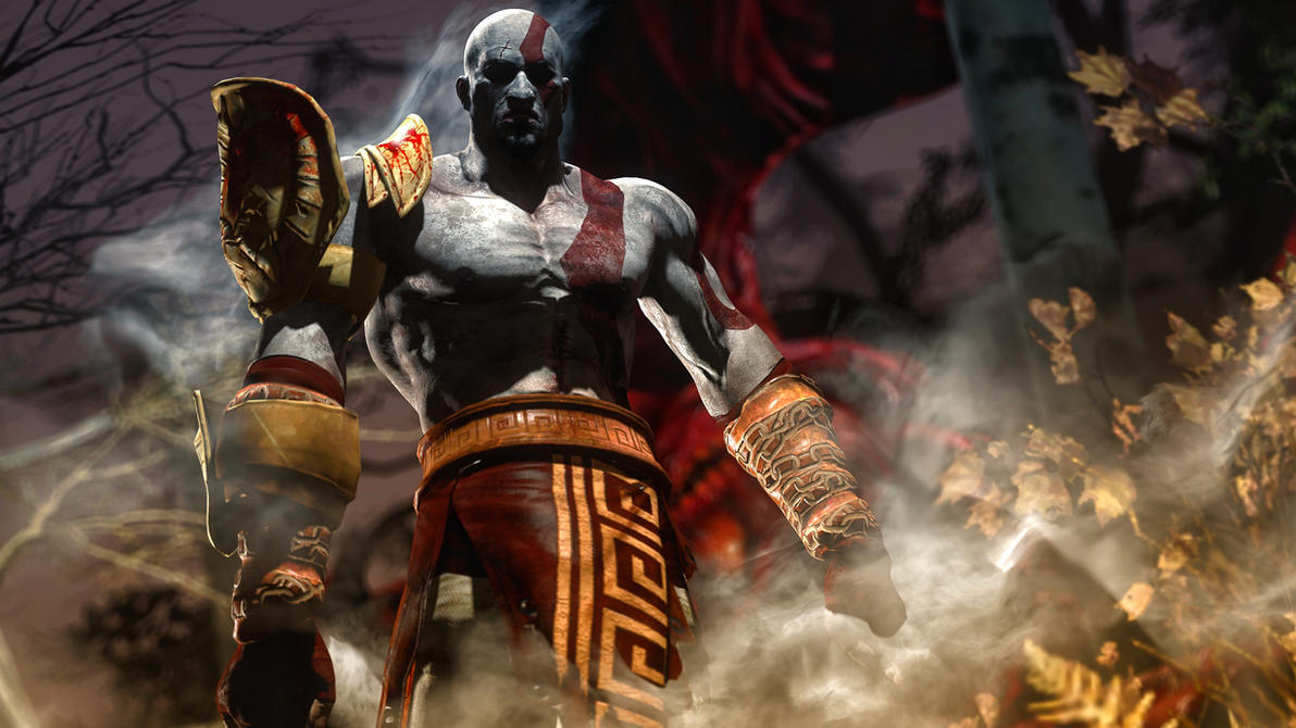 Kratos by AngryRabbitGmoD