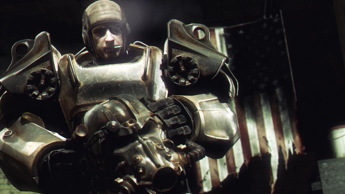 Power Armour by AngryRabbitGmoD