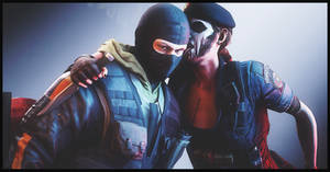 Caveira and Bandit (Rainbow Six Siege)