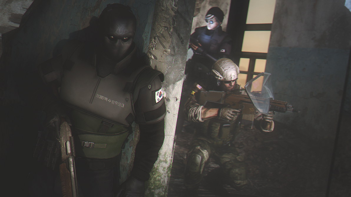 The Shadow (Rainbow Six Siege) by AngryRabbitGmoD