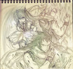 The dragon slayers of Fairy Tail