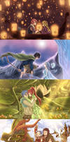 Fairy Tail crossovers