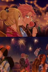 {Nalu week} Firework by blanania