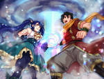 Commission: Wendy and Romeo Unison Raid