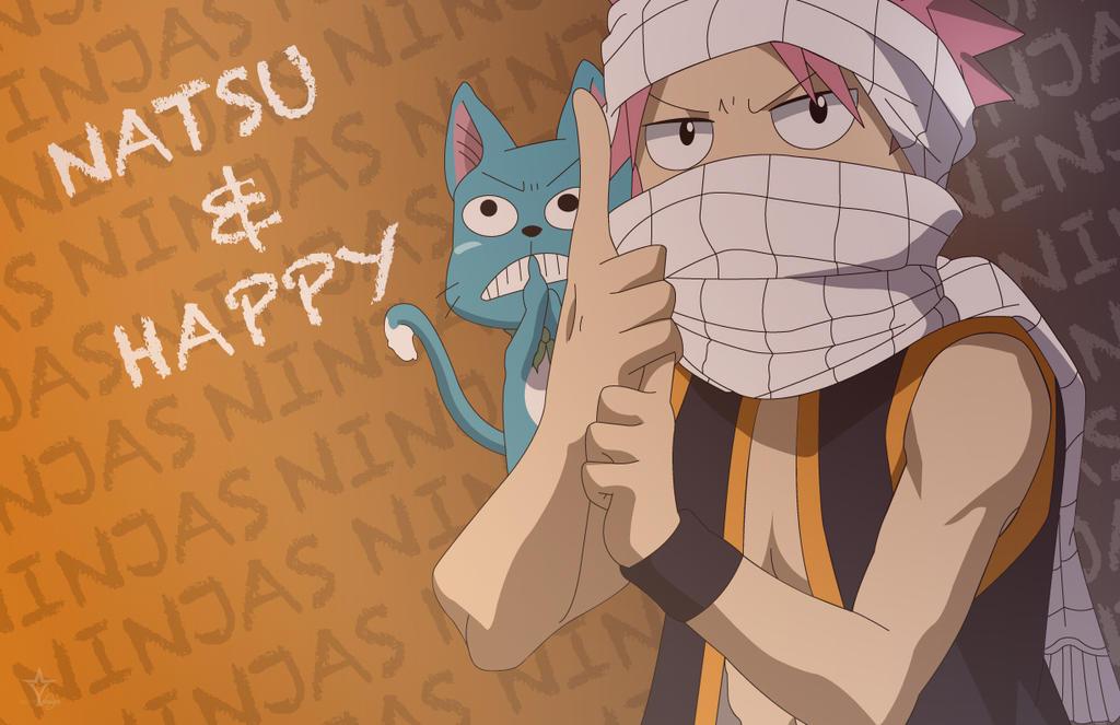 Natsu ninja by Erzakuse