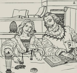 The Master of Coin and his wife