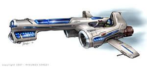 space battle unit 02 by Rykunov
