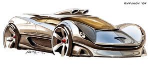 Concept car sketch 3