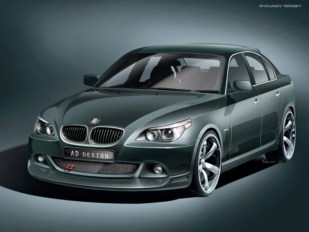 bmw e60 tuning kit by rykunov on deviantart. Black Bedroom Furniture Sets. Home Design Ideas