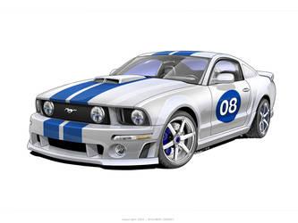 Ford Mustang by Rykunov