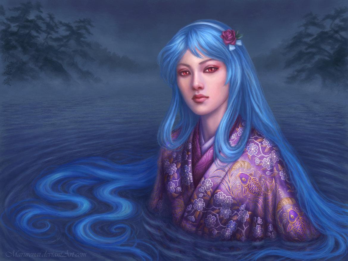 Dragoness Kikuya (kiriban for Miisu) by marurenai