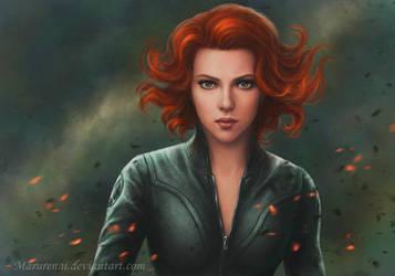 Black Widow by marurenai