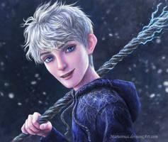 Jack Frost portrait