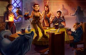 Commission- Tavern by frankhorlw