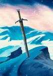 Commission - Elven Blade