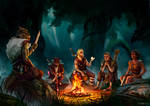 Commission -   Campfire