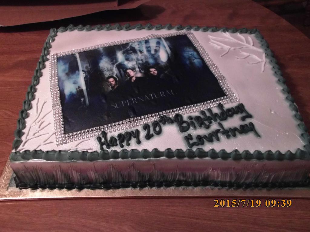 supernatural birthday cake by supernaturalspirit15 on