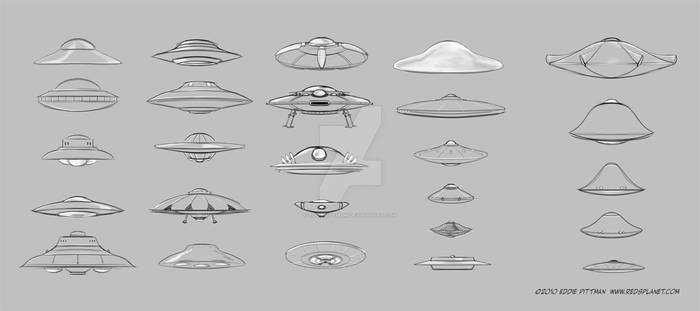 A Variety UFOs