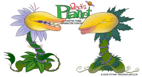 Red's Planet Character Design