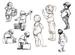 Park Sketches by EddiePittman
