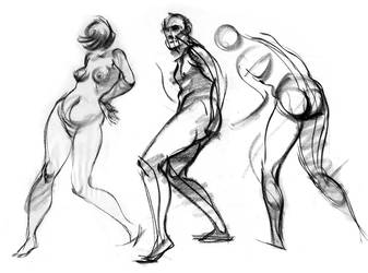 Figure Study by EddiePittman