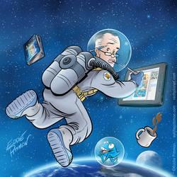 Eddie in Space by EddiePittman