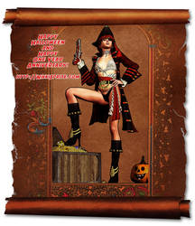 Nikki Pirate by tkdoherty