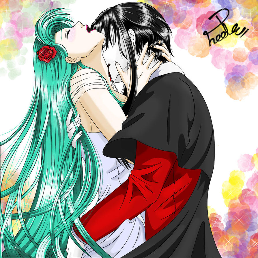 Bloody Anime Couple Images & Pictures - Becuo