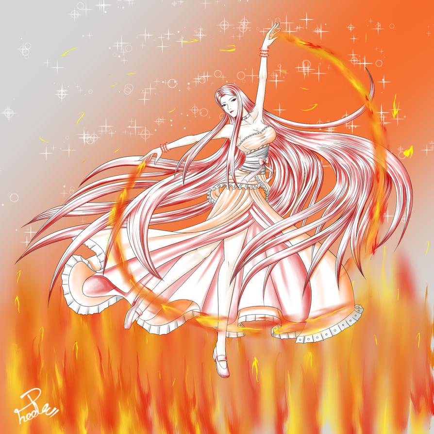 SMC - OC Pyrena for Honoka--chan by Shin--chan