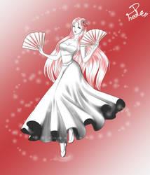 SMC - OC Tsuruko for Honoka--chan by Shin--chan