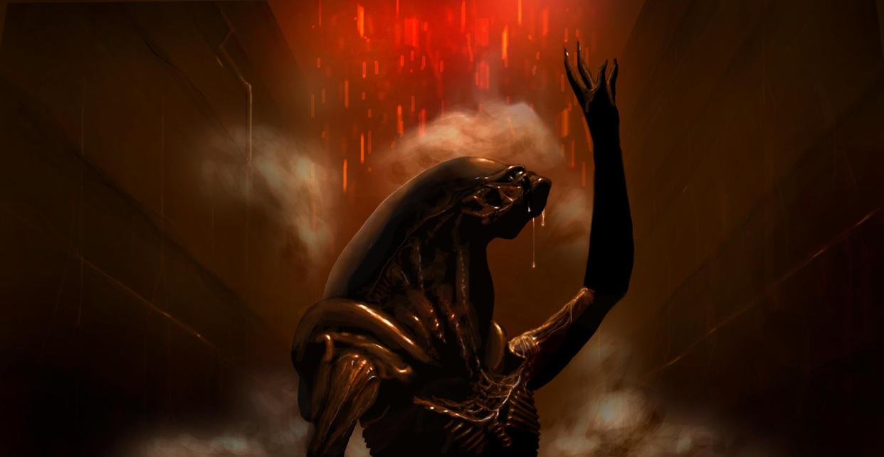 Xenomorph from Alien 3 by fastleppard