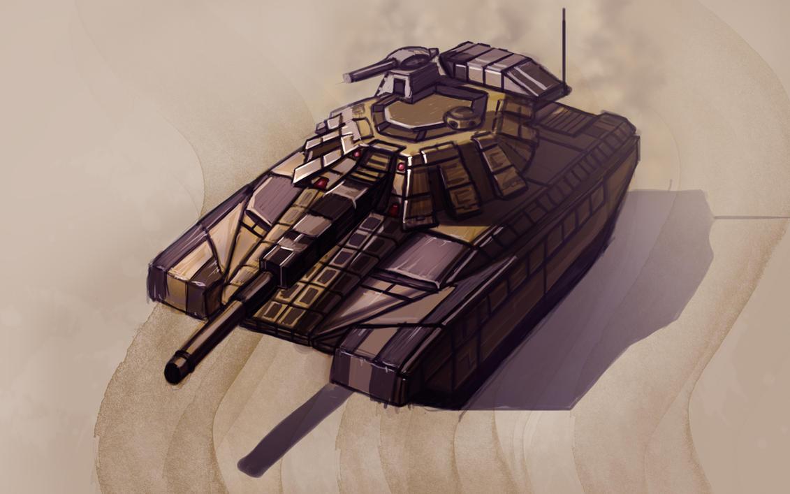 t-100 tank by fastleppard