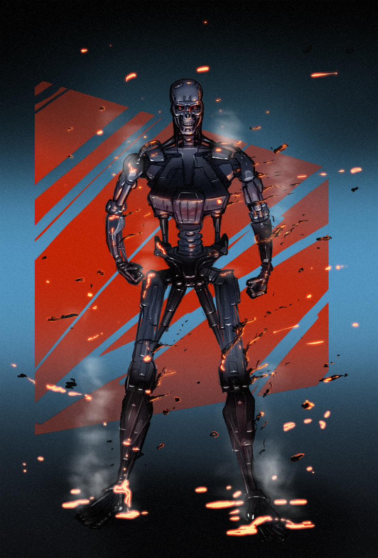 Terminator t-800 upgraded by fastleppard