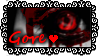 Gore Love Stamp by GrimNoxPrincess