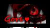 Gore Love Stamp by TwistedWytch