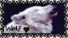 Wolf Love Stamp by GrimNoxPrincess