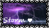 Storm Love Stamp by Midnyte-Wolff