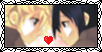 Roxas Xion Love Stamp by GrimNoxPrincess