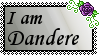 Dandere Stamp by Twisted--Princess