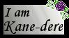 Kane-dere Stamp by GrimNoxPrincess