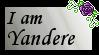 Yandere Stamp by GrimNoxPrincess