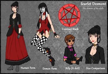 Scarlet Desmont by TwistedWytch