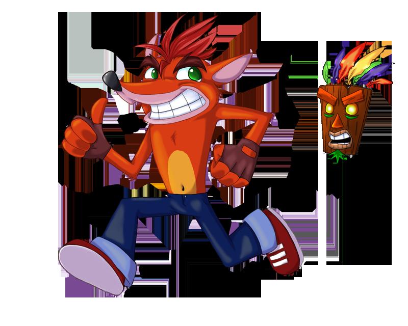 Crash Bandicoot Evil Crash Crash Bandicoot Evil Mask