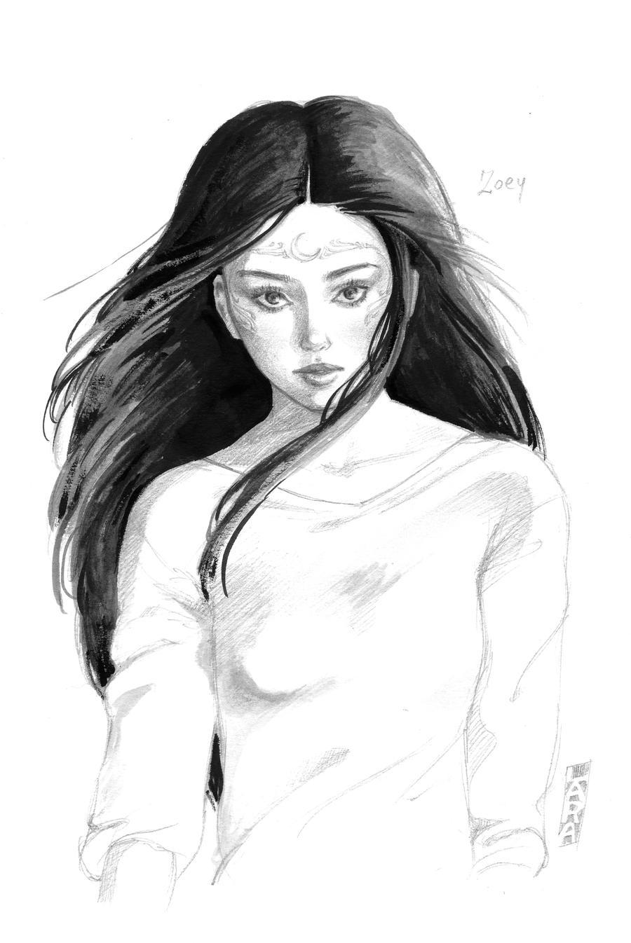 Zoey Redbird by lallychan