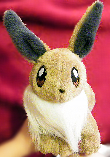 Eevee inspired plush by zukori
