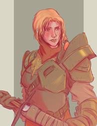 For Honor's Female Warden by AlexZebol