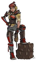 Ex-Hyperion Vault Hunter by AlexZebol