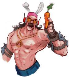 Bunny! Carrot! EXPLOSION! by AlexZebol