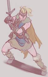 For Honor's female Highlander by AlexZebol
