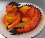 Fire Dragon Cupcake